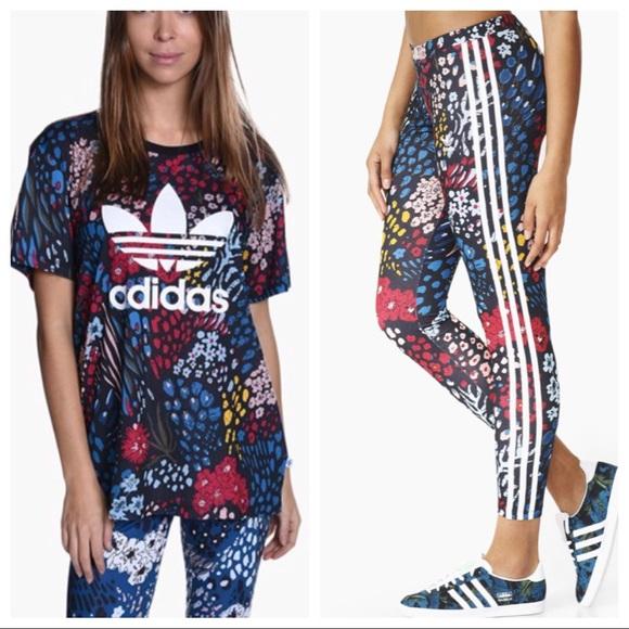 Boyfriend T Shirt und Leggings Set